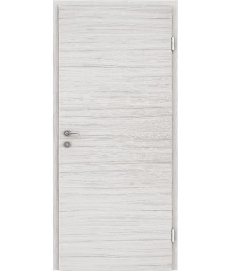 CPL interiérové dveře TOPline - L1 palisandr bílý