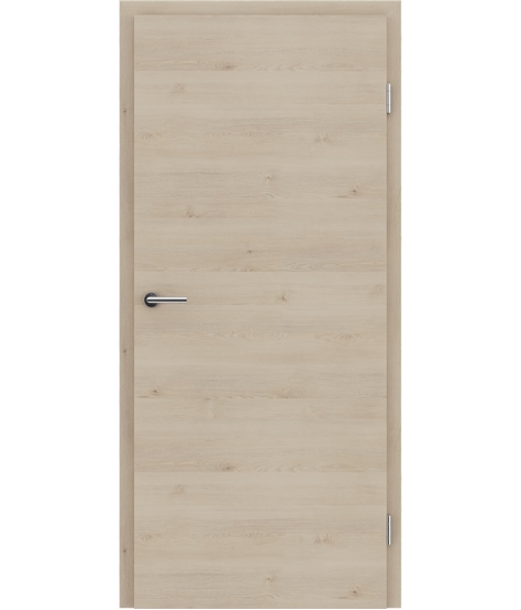 CPL interiérové dveře TOPline - L1 DYNAMIC borovice fantasy bílá
