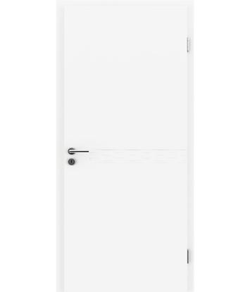 Picture of Bíle lakované interiérové dveře COLORline - EASY R29L