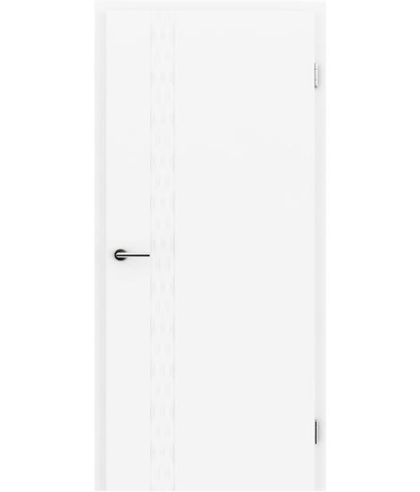 Bíle lakované interiérové dveře COLORline - EASY R29L