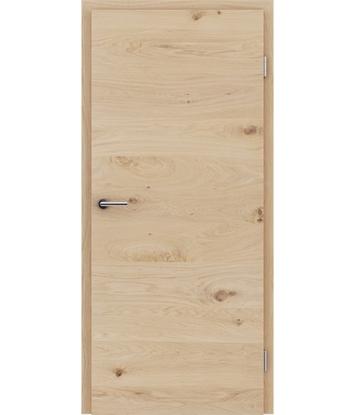 Dýhované interiérové dveře s vertikální a/nebo horizontální strukturou VIVACEline - F4 dub sukatý bíle olejovaný