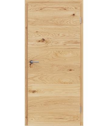 Picture of Dýhované interiérové dveře s vertikální a/nebo horizontální strukturou VIVACEline - F4 dub sukatý kartáčovaný mat louhovaný lakovanDýhované interiérové dveře s vertikální a/nebo horizontální strukturou VIVACEline - F4 dub sukatý kartáčovaný natur lakovaný