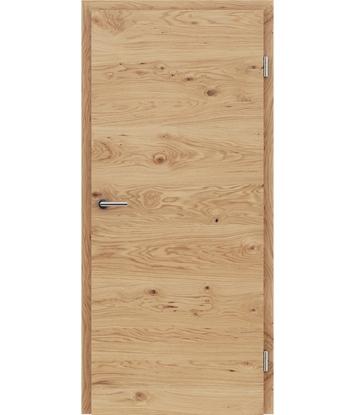 Dýhované interiérové dveře s vertikální a/nebo horizontální strukturou VIVACEline - F4 dub sukatý natur lakovaný
