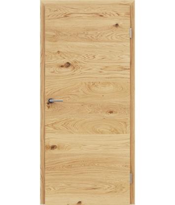 Dýhované interiérové dveře s vertikální a/nebo horizontální strukturou VIVACEline - F4 dub sukatý olejovaný