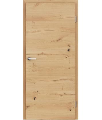 Dýhované interiérové dveře s vertikální a/nebo horizontální strukturou VIVACEline - F4 dub sukatý rozpraskaný olejovaný