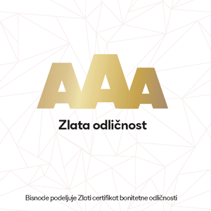 Picture of AAA certifikát skvělého ratingu