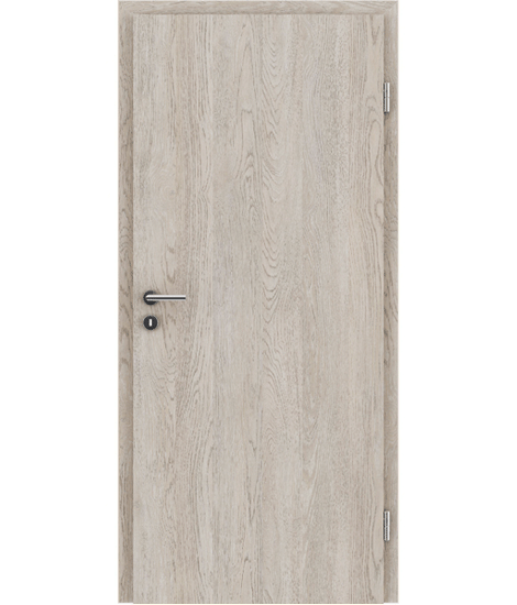 Interiérové dveře s imitací dýhy BASICline PLUS - dub WHITE WASH