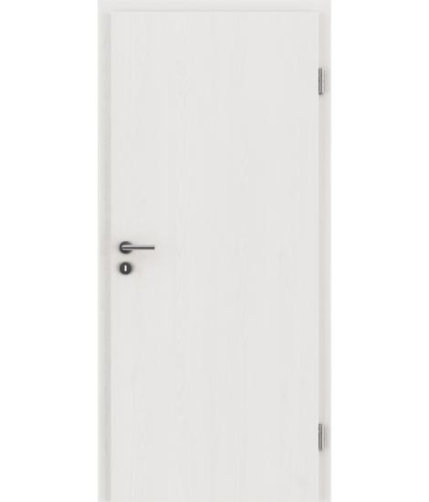 Interiérové dveře s imitací dýhy BASICline PLUS - modřín WHITE WASH