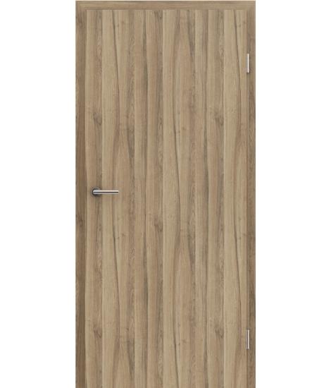 CPL interiérové dveře TOPline MATTLINE - ořech MEDITERAN