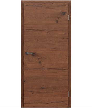 Dýhované interiérové dveře s vertikální a/nebo horizontální strukturou VIVACEline PRESTIGE - F4 dub Altholz olejovaný